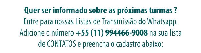 Listas de Transmissão FIC Whatsapp
